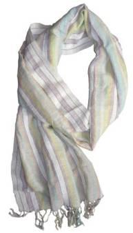 linen stoles from Shantipur - Fulia