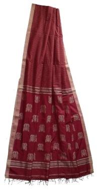 Fulia Handloom Silk saree