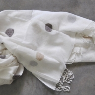 Cotton Jamdani stole