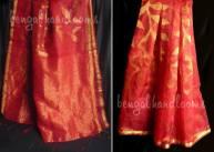 Pure silk jamdani