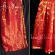 Pure silk jamdani