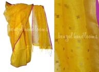 Silk - matka with woven sequins